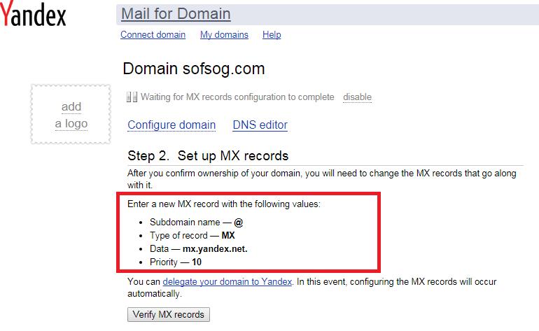 Hướng dẫn tạo email tên miền riêng miễn phí (Yandex com) 5
